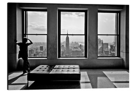 Tableau en aluminium  New York, Top of the Rock - Thomas Splietker