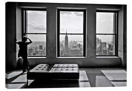 Tableau sur toile  New York, Top of the Rock - Thomas Splietker