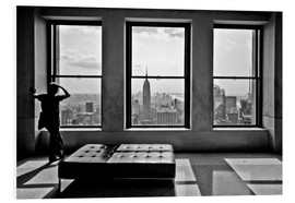 Tableau en PVC  New York, Top of the Rock - Thomas Splietker