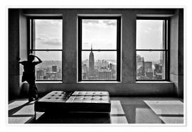 Poster  New York, Top of the Rock - Thomas Splietker