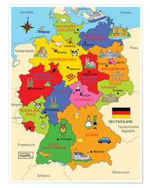 Fluffy Feelings - German states for children