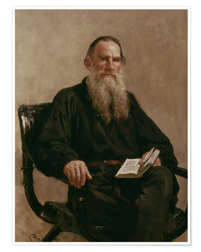 Poster Lev Tolstoy
