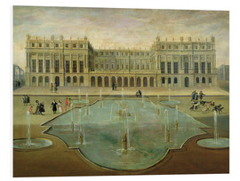 Tableau en PVC  Chateau de Versailles from the Garden Side - French School