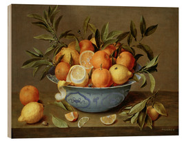 Bois  Still Life with Oranges and Lemons - Jacob van Hulsdonck