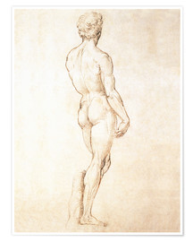 Michelangelo - Study of David