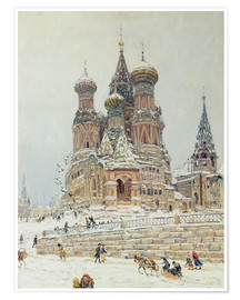 Poster St. Basil's Cathedral