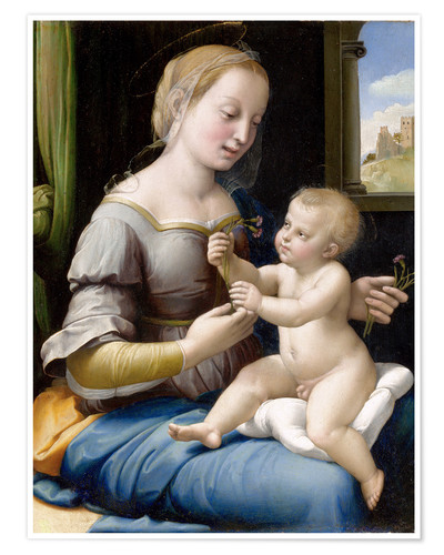 Poster Madonna and child