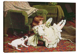 Tableau sur toile  Time to Play - Charles Burton Barber