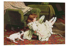 Tableau en PVC  Time to Play - Charles Burton Barber