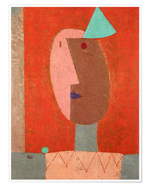 Poster  Clown - Paul Klee