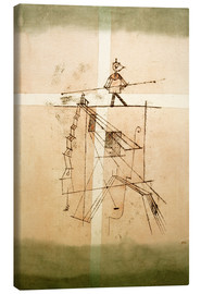 Toile  Tightrope Walker - Paul Klee