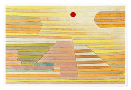 Poster  Evening in Egypt - Paul Klee