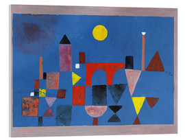 Verre acrylique  Red Bridge - Paul Klee