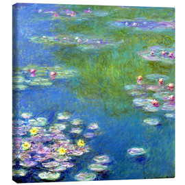 Toile  Nymphéas - Claude Monet