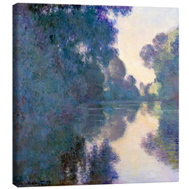 Toile  Morning on the Seine - Claude Monet
