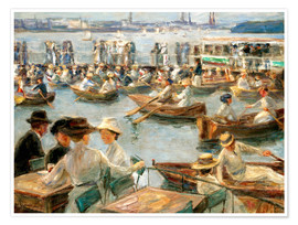 Poster  By the Alster River - Max Liebermann