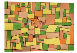 Verre acrylique  Country House of Thomas R. - Paul Klee
