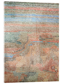 Verre acrylique  the whole dawning - Paul Klee