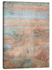Toile  the whole dawning - Paul Klee