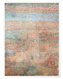 Poster  the whole dawning - Paul Klee