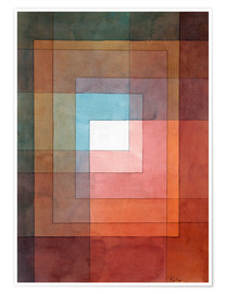 Poster  Blanc polyphonique - Paul Klee