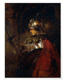 Poster  Alexander the Great - Rembrandt van Rijn