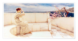 Poster  Expectations - Lawrence Alma-Tadema