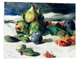 Tableau en PVC  Nature morte aux fruits - Pierre-Auguste Renoir