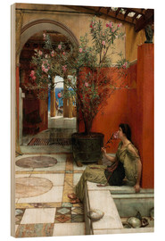 Bois  The Oleander - Lawrence Alma-Tadema
