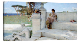 Tableau sur toile  The Voice of Spring. - Lawrence Alma-Tadema