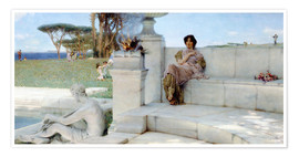 Poster  The Voice of Spring. - Lawrence Alma-Tadema