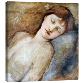 Tableau sur toile  Sleeping Princess - Edward Burne-Jones