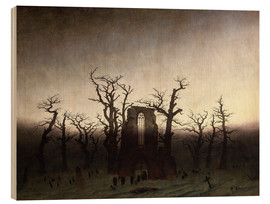 Bois  The Abbey in the Oakwood - Caspar David Friedrich