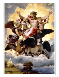 Poster The Vision of Ezekiel