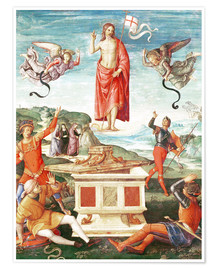 Poster  The Resurrection o.Christ - Raffael