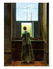 Caspar David Friedrich - Woman at the window