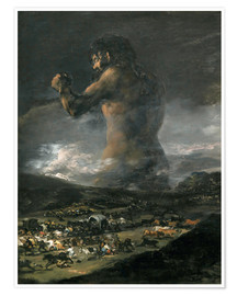 Poster  The Colossus - Francisco José de Goya