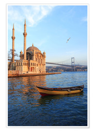 Ali Kabas - Rowboat and Ortaköy Mosque