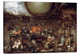 Toile  L'Enfer - Hieronymus Bosch