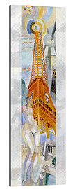 Alu-Dibond  The woman and the tower - Robert Delaunay