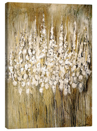 Toile  flower abstract - Christin Lamade