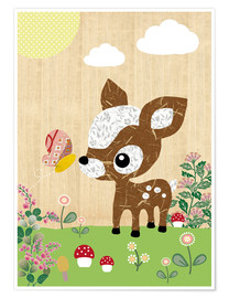 Poster  Bambi - GreenNest