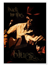Poster Back to the blues