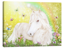 Toile  Unicorn of Happiness - Dolphins DreamDesign