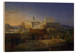 Bois  The Acropolis of Athens, 1846 - Leo von Klenze