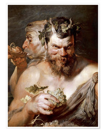 Poster  Two Satyrs - Peter Paul Rubens