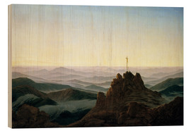 Bois  Morning in the Giant Mountains - Caspar David Friedrich