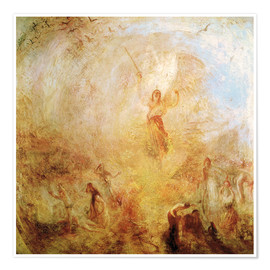 Joseph Mallord William Turner - Les anges du soleil