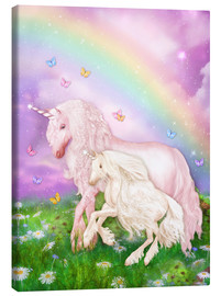 Toile  Unicorn Rainbow Magic - Dolphins DreamDesign