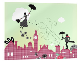 Verre acrylique  Mary Poppins London - Elisandra Sevenstar